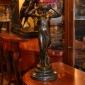 مجسمه برنزی زن دو دست بالا EP-892