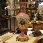 گلدان باریک چینی برنزی (صورتی) کد 166-149