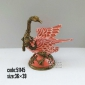 اردک چینی برنزی مينياتوری کد 51145