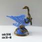 اردک چینی برنزی مينياتوری کد 51146