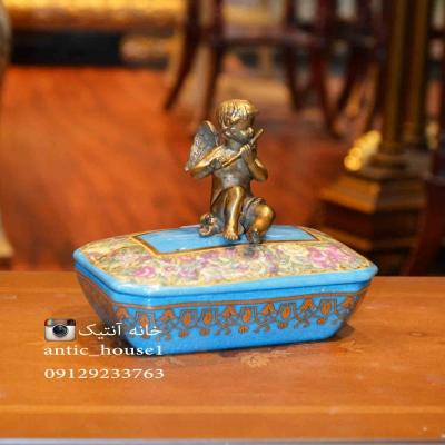 شکلات خوری چینی برنزی فرشته کد 848 DB