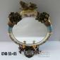 آیینه چینی آنتیک رومیزی بیضی کد 674 B