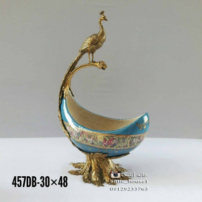 ژاردين چینی آنتیک طاووس کد 457 DB