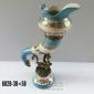 گلدان چینی برنزی عاج اژدها بزرگ کد 602 B