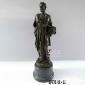 مجسمه برنزی مرد سبد بدست کد EP 773