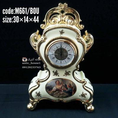 ساعت رومیزی BC ایتالیا کد M661/BOU