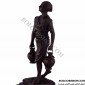 مجسمه برنزی مرد با دوکوزه EP-392